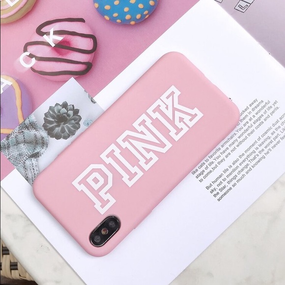 SHEIN Pink Letter Graphic iPhone 11 Pro Case